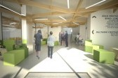 architektonická studie - vizualizace - interiér