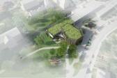 architektonická studie - vizualizace