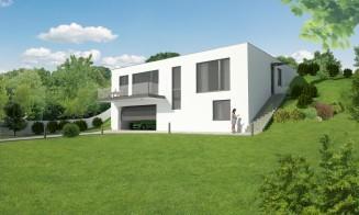 Novostavba rodinného domu u Brna