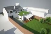 projekt řadový dům Kyjov