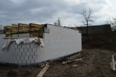 obloukový roh domu