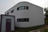 zaoblený roh domu